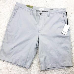 😄 Goodfellow Gray Flat Front Men's Shorts   40